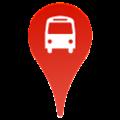 Bus Nearby אוטובוס קרוב לוגו - מציאת זמן מדוייק של אוטובוס