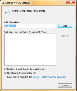 compatibility window