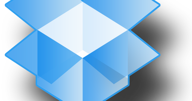 דרופבוקס לוגו dropbox logo