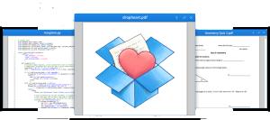 dropbox feature show documents