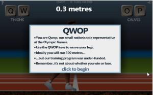 explain game qwop