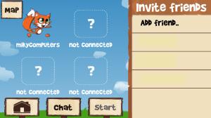 הזמנת חברים למשחק fun run