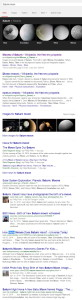search saturn moon in google